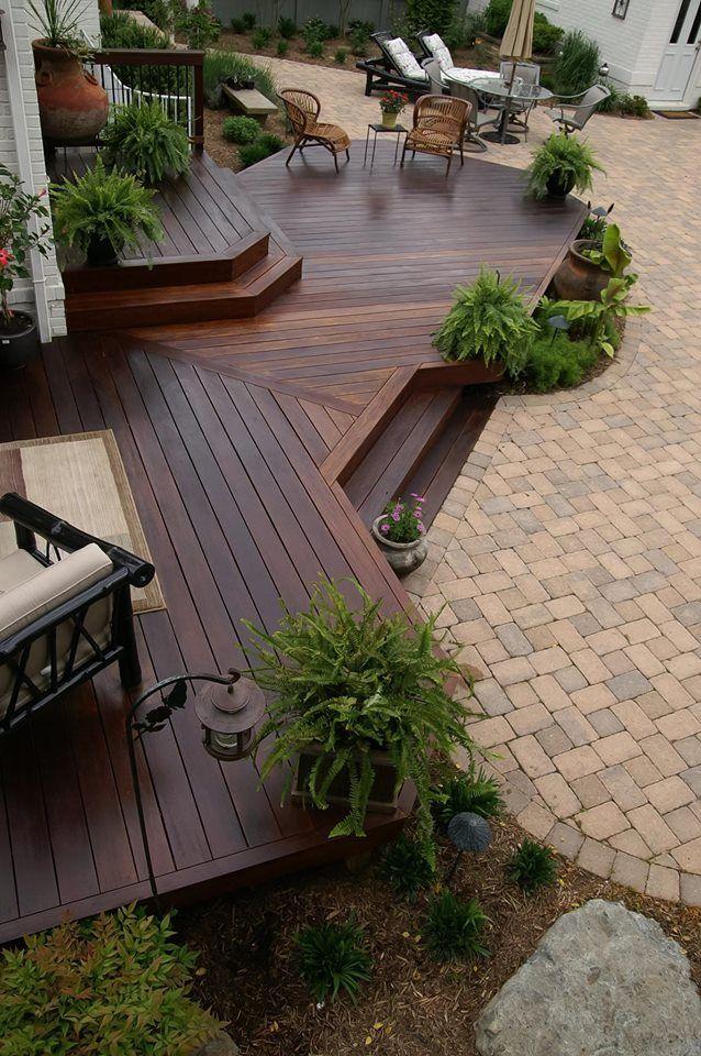 Penofin Hardwood On Ipe Deck Backyard Patio Designs