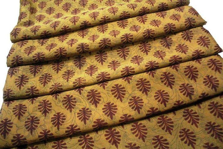Indian Saree Vintage Sari Decorative Women Sarong Drape 5 Yard #Unbranded #FreeStyle
