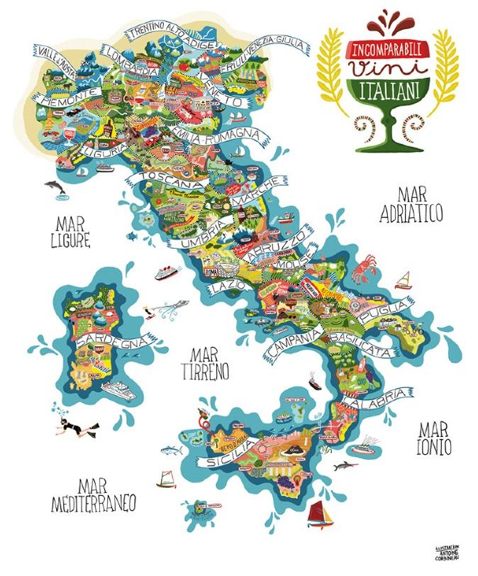 incomparabili vini italiani  #italia