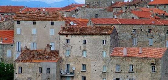 Les toits de Sartène
