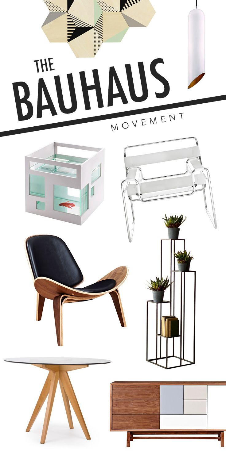 Discover the influencers of modern design: If you're a fan of any type of modern design, you need to know about the Bauhaus school. Warmed with caramel and cognac tones, our favorite pieces inspired by this famous school can transform any home into a refined and sophisticated space that makes a bold design statement. Shop Now at dotandbo.com!