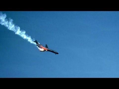 Plane Crash Caught on Camera - YouTube
