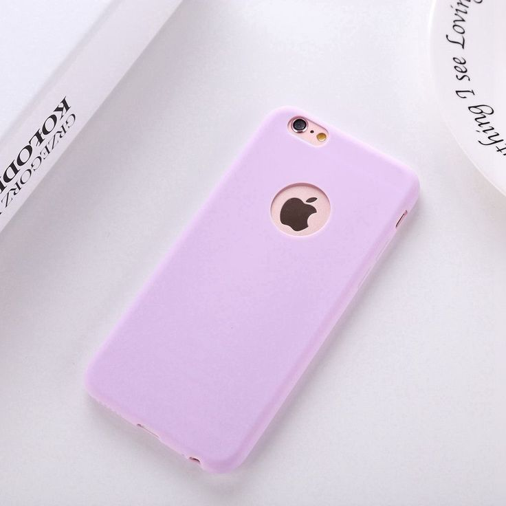 Solid Candy Color Matte Skin Case for iPhone 6S TPU Rubber Soft Back Cover Case for iPhone 6 6S 4.7 inch