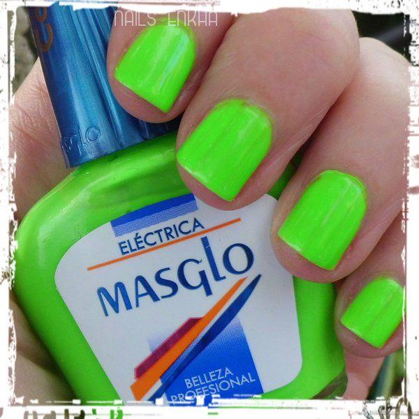 #masglo Eléctrica #green #fluor #nails #notd #manicure #nailart #polish #nailspolish #nailartadict #cutepolish #cool #fashion #nailideas #manicura #esmalte #uñas #unhas #blog #blogguer #blogasturias #bloggerasturias #beauty #beautyblog