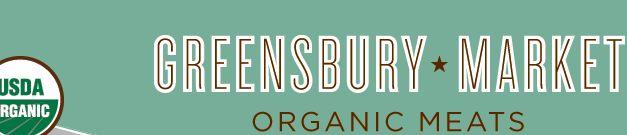 Greensbury * Market — Organic Meats