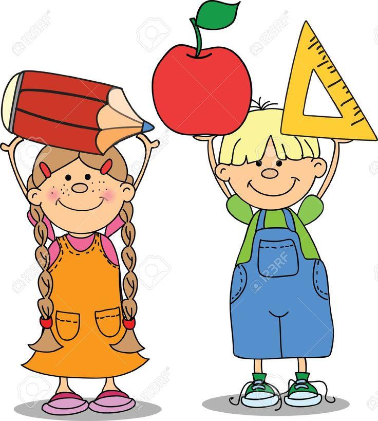 22230181-Pupils-hold-school-things--Stock-Vector-school-cartoon-children.jpg (1168×1300)