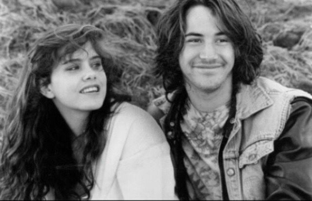 """Ione Skye & Keanu Reeves from """"River's Edge"""""""