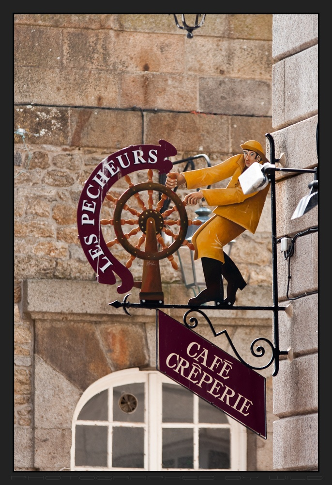 The Fishermen Cafe in Saint-Malo, France