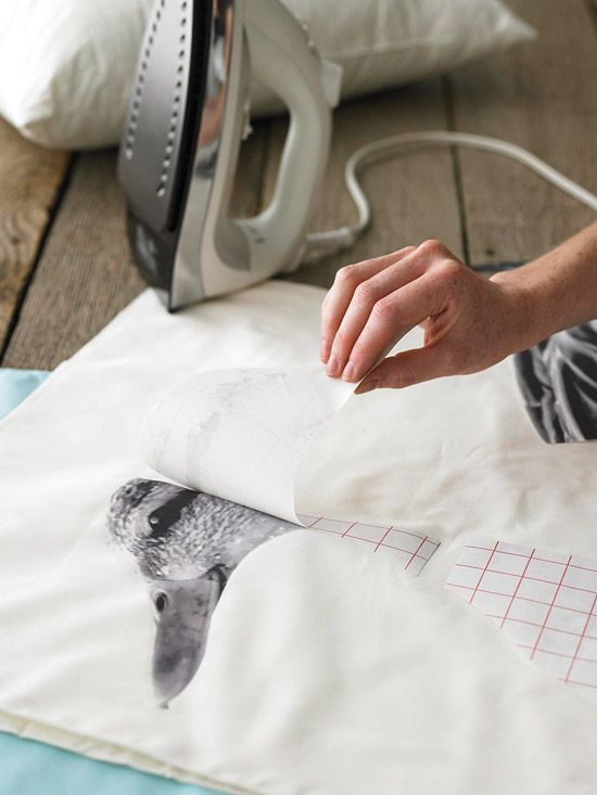 tips on transferring computer printed pictures onto fabric and other things!