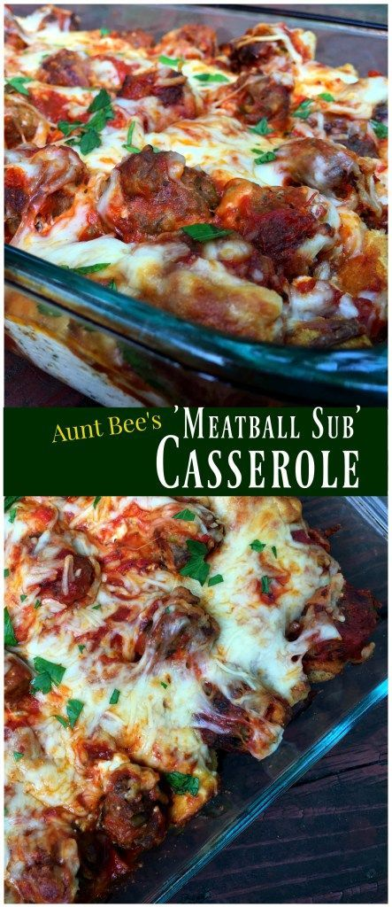 This Meatball Sub Casserole is the best thing we have eaten all month!  Will definitely be making again and again!