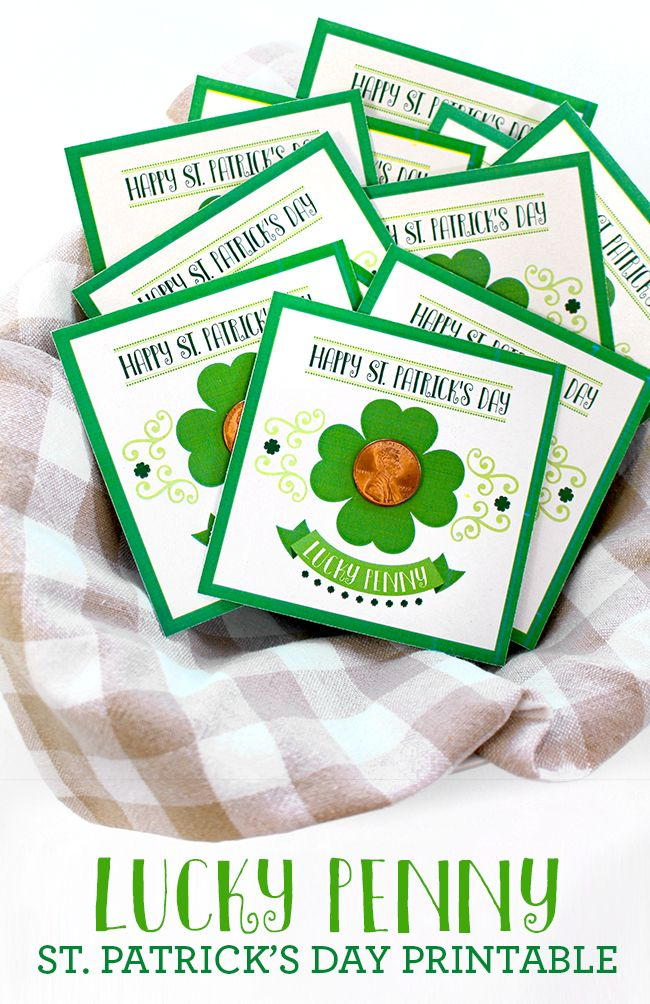 I am sharing a quick and easy St. Patrick's Day cardthat can be given tofriends or classmates,givingthem a little bit of extra luck on St. Patty's Day. This St. Patrick's Da...