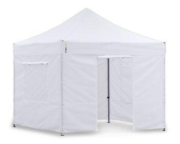 Unser TOP-Pavillon-Set mit Seitenwänden. In 5 Minuten aufgebaut, wahnsinn.