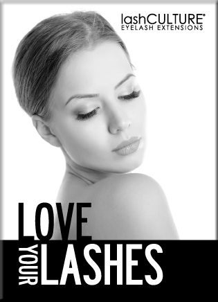 Love Your Lashes - Campaign Poster