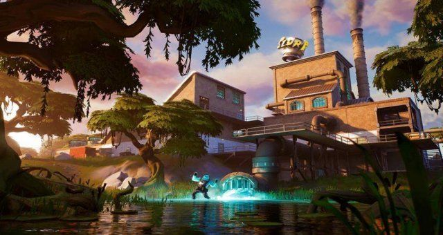 Fortnite Hidden R Location Chapter 2 Season 1 In 2020 Epic