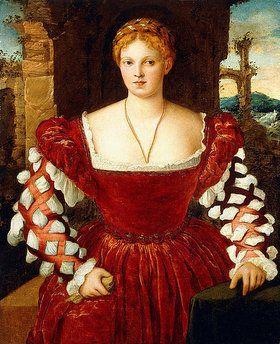 16th c Francesco Beccaruzzi - Portrait of a noblewoman