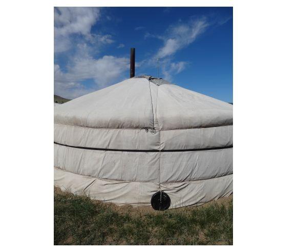 モンゴル遊牧民の家・ゲルの仕組み03