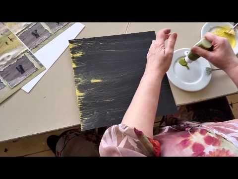 Vlog 10 scrapbooken spelen met de waaierkwast