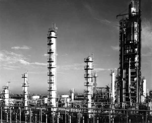 PRA (Petroleum Refineries Australia) oil refinery in Altona-Melbourne ...