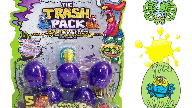 Çöps Çetesi Oyuncak Sürpriz Yumurtalar The Trash Pack Rotten Eggs