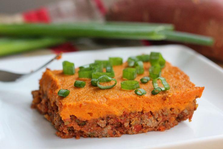 pastel de carne, substituyo camote porcoliflor y zanahoria, tal vez ...