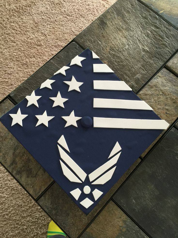 Graduation Cap Air Force