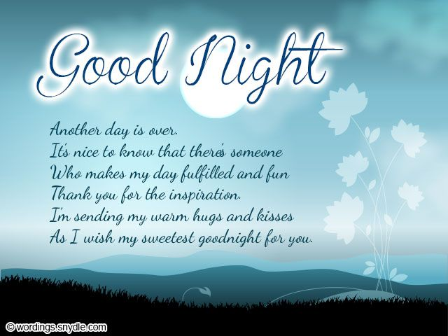 Sweet Goodnight Messages and Cute Goodnight Text Messages  Wordings and Messages
