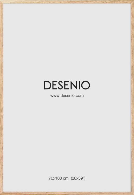 Oak picture frame, 70x100 in the group Picture frames / Sizes / 70x100cm at Desenio AB (AAE50123)