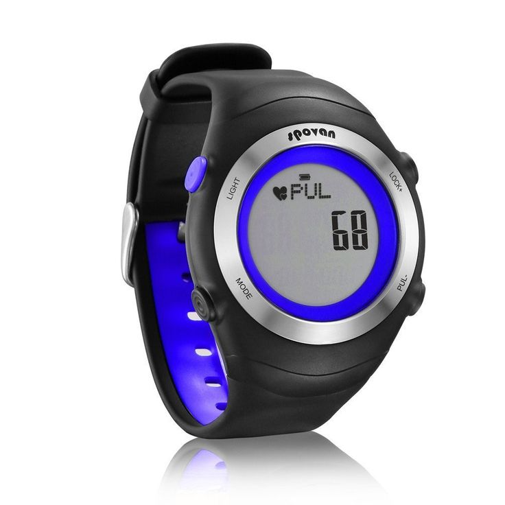 DGYAO® Fitness Outdoor Sport Digital Sensor Heart Rate Monitor Watch with Alarm,3D Pedometer,Calories,Mileage,Timer,Memory Saving Best for Running,Hiking,Cycling (Blue). Support Real-Time heart rate detecting. Heart rate warning,3D Pedometer,EL back light,Stopwatch,Clock, Alarm,Calorie counter. Water Resistant,Safety Warning,Shock Resistant,Stop Watch,Back Light,Fitness Tracker. Auto Date,Repeater,Perpetual Calendar,Rattrapante. Dial Window Material Type:Acrylic; Dial Material Type:Rubber.