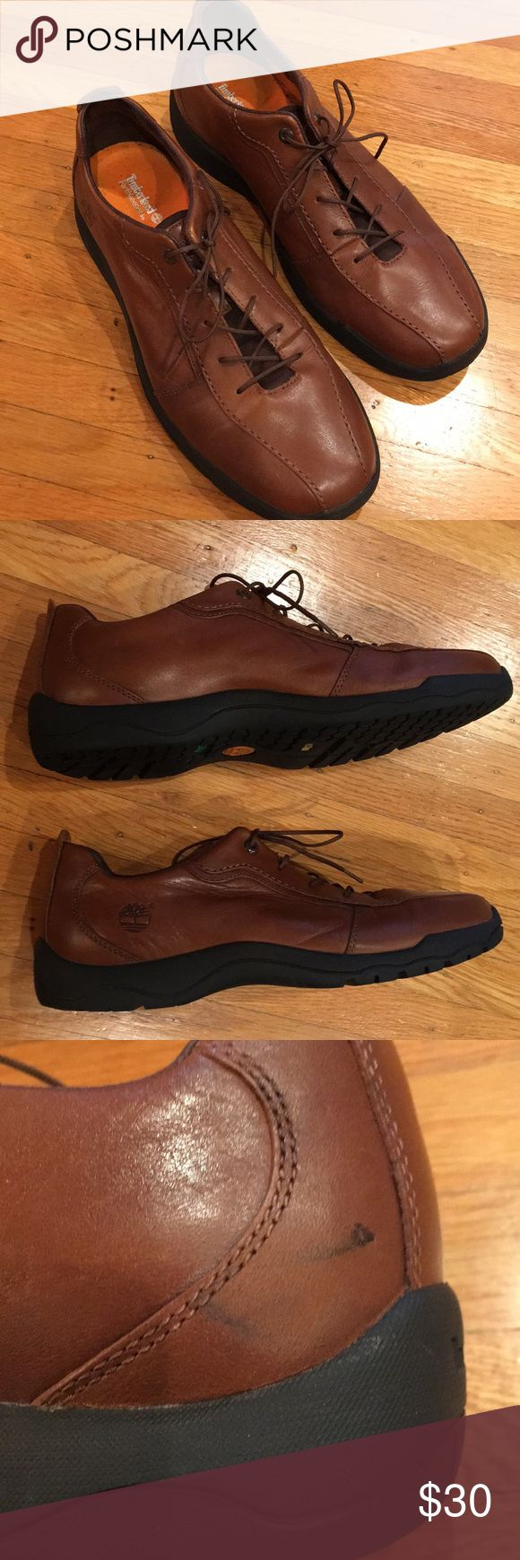 Timberland Earthkeepers Shoes Like new! Small scuff on one shoe (see picture), these shoes have hardly been worn. Men size 9.5 Timberland Shoes