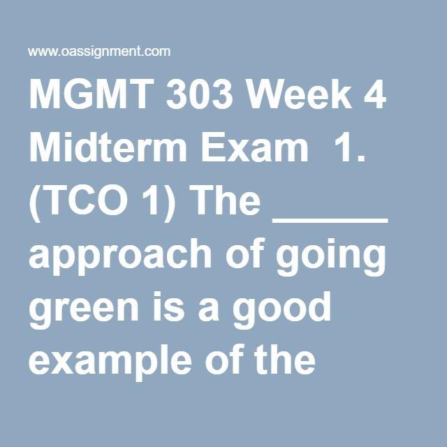 Mgmt 20100 practice midterm exam i