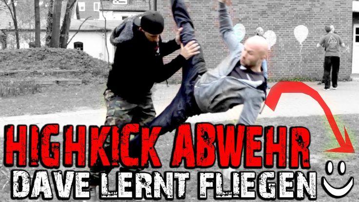 DAVE LERNT FLIEGEN | Eine weitere Möglichkeit einen HIGHKICK abzuwehren ...