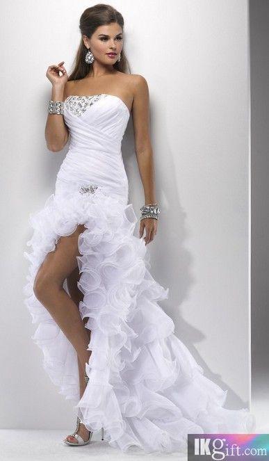Long dress too formal wedding