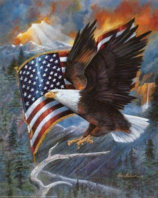 One Nation Under God Harley Davidson T Shirt