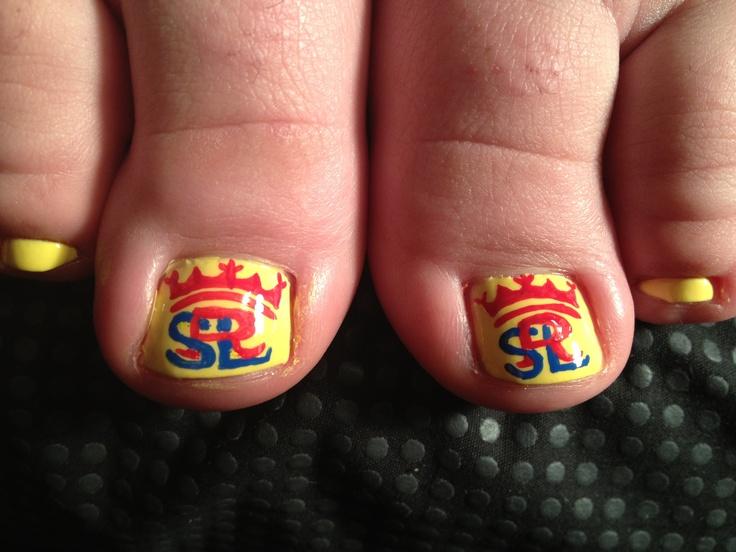 Salt Lake Real nail art.   nail art by julie   Pinterest ...