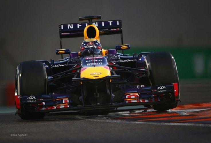 Sebastian Vettel, Red Bull, Yas Marina, 2013