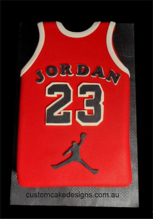 Custom Cake Designs Cake Decorator Perth | Michael Jordan Sports ...