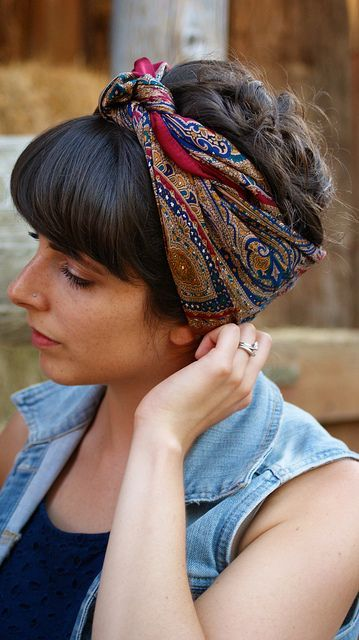 bandana styles for hair 229 best images about hair amp ideas on 1284
