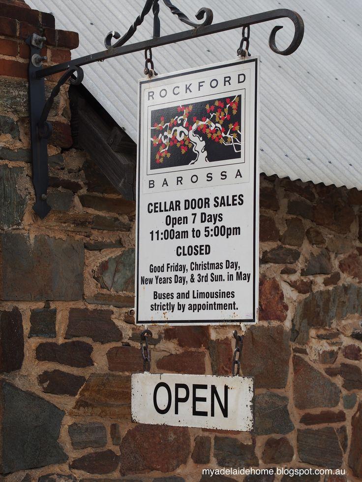 Rockford Wines in the Barossa Valley #rockford #barossa #southaustralia #australia #wine