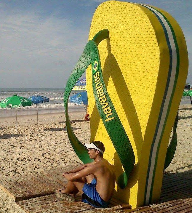 Havaianas, um dos maiores símbolos do Brasil!