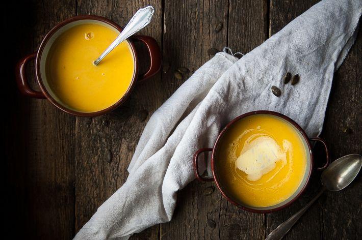 Herbstliche Kürbis-Kokos-Suppe und die 5 Elemente-Küche