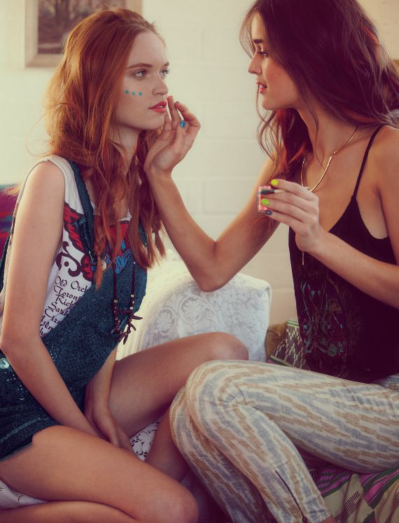 face painting -- from free people