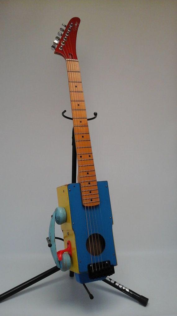 Guitare Epiphone téléphone à la main acoustique / électrique Antique Toy vraie guitare