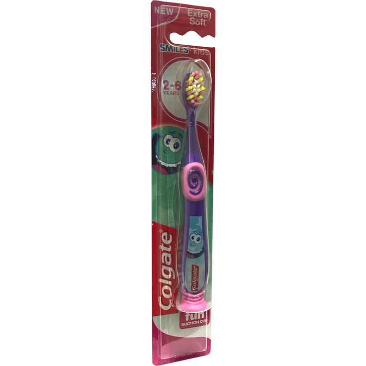 Colgate Kids Minios Extra Soft Οδοντόβουρτσα Παιδική 2-6 Χρονών σε Διαφορετικά Χρώματα με Ειδική Βάση 1τεμάχιο. Μάθετε περισσότερα ΕΔΩ: https://www.pharm24.gr/index.php?main_page=product_info&products_id=13878