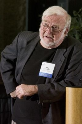 "Mike Csikszentmihalyi, Distinguished Professor of Psychology and Director, Quality of Life Research Center, CGU, spoke on ""The Science of Happiness."""