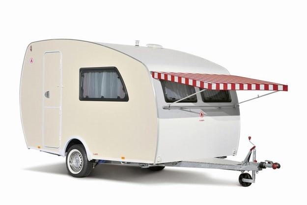 campy retro #caravan