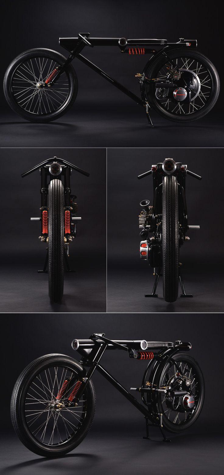 バイクを改造してみよう。