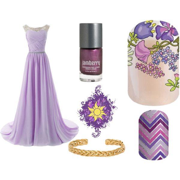 Rapunzel, Jamberry style! megsglamjams.jamberrynails.com.au