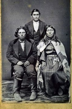 Creek family at Fort Smith in Arkansas - 1862