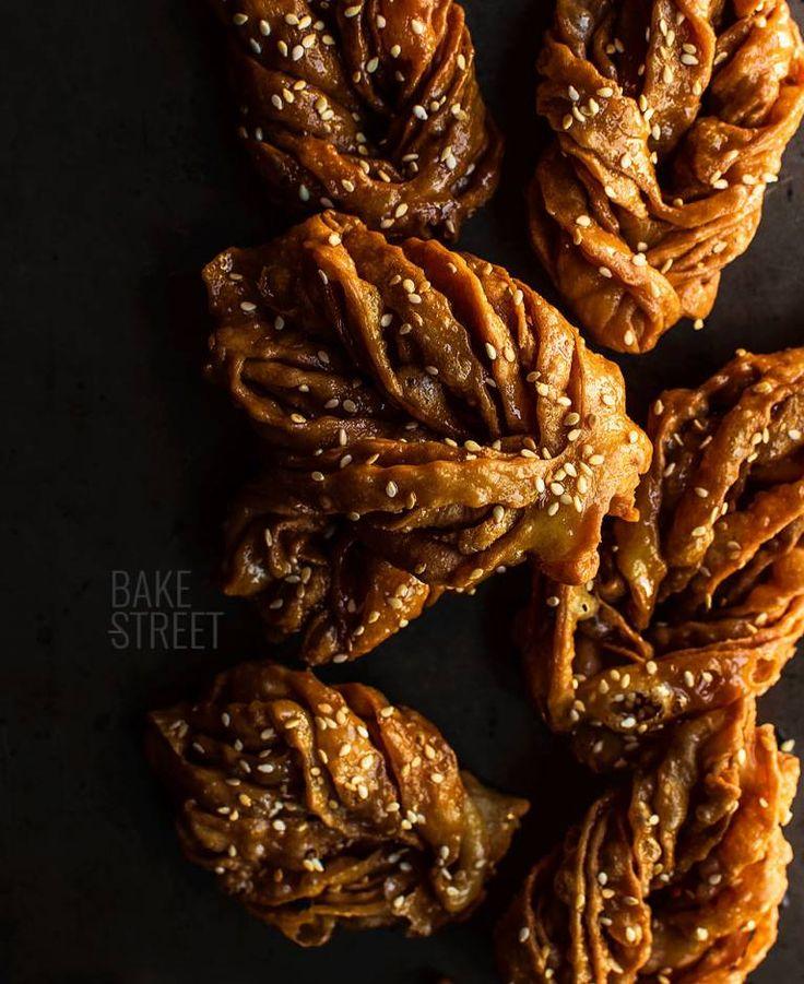 Griwech, dulce de Argelia El Ramadan, My Daily Bread, Spoon Bread, Croissants, Scones, Bakery, Sweet Treats, Rolls, Sweets