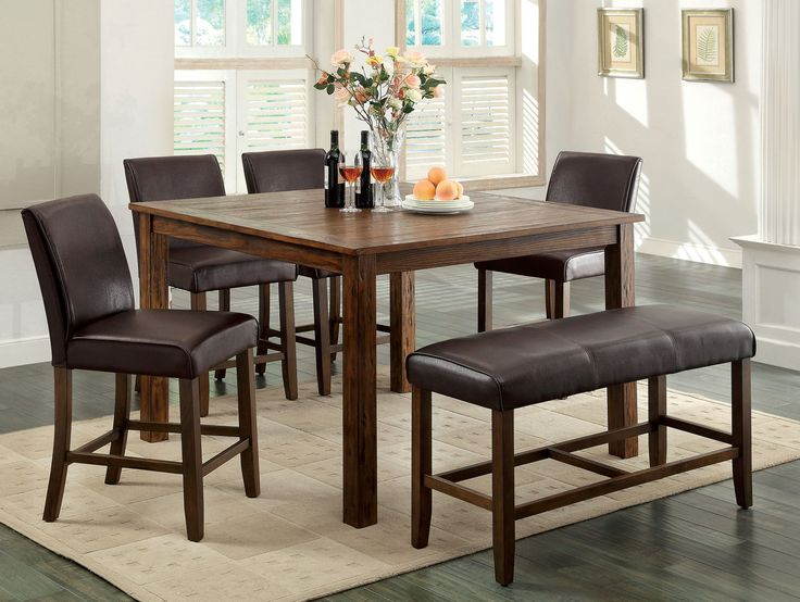 Best 25+ Rustic dining room sets ideas on Pinterest | Dining table ...